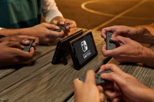 Nintendo Switch Controllers: JoyCon Multiplayer modus