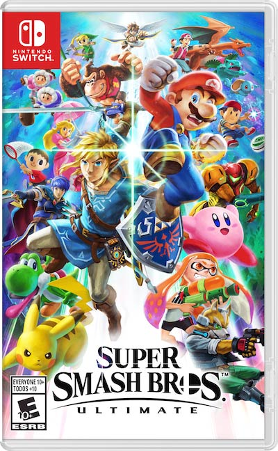 Nintendo Switch - Super Smash Brothers Ultimate